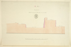 Section through the Fort, Sidhout